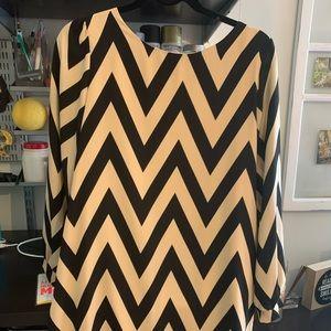 Everly Chevron Dress